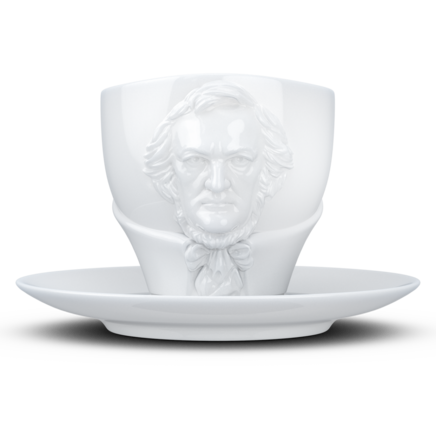 "TALENT Tasse ""Richard Wagner"" in weiß, 260 ml"